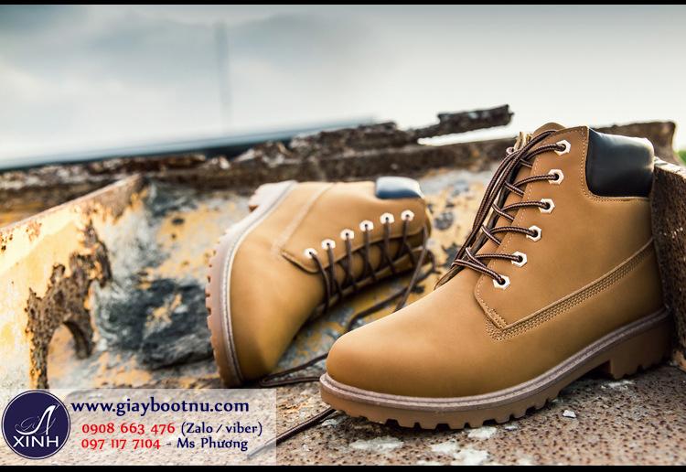Boot nữ Martin chuẩn sành điệu màu bò GBN18502